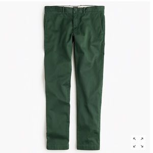 J Crew  770 straight fit pant in stretch chino